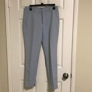 Zara light blue trousers
